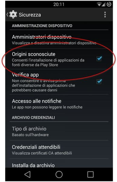 android_scaricare_da_origini_sconosciute