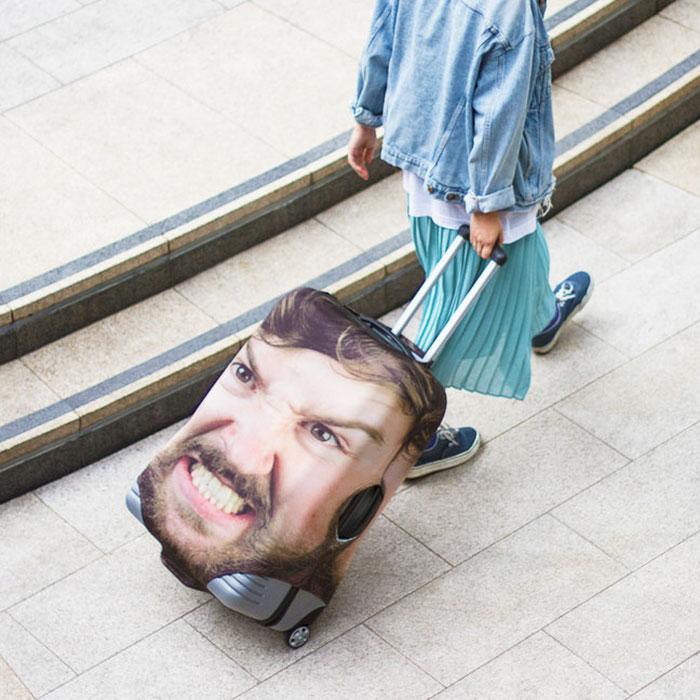 Bagaglio personalizzato con una foto a vostro piacere