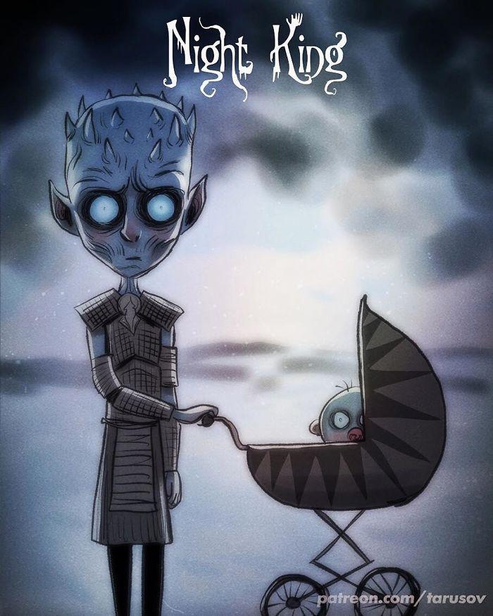 trono di spade cartoons 04