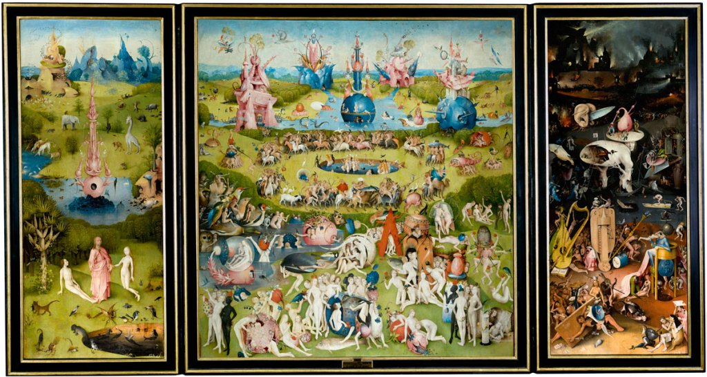 01 hieronymus bosch the garden of earthly delights 1