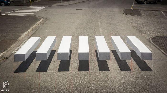 02 strisce pedonali 3D
