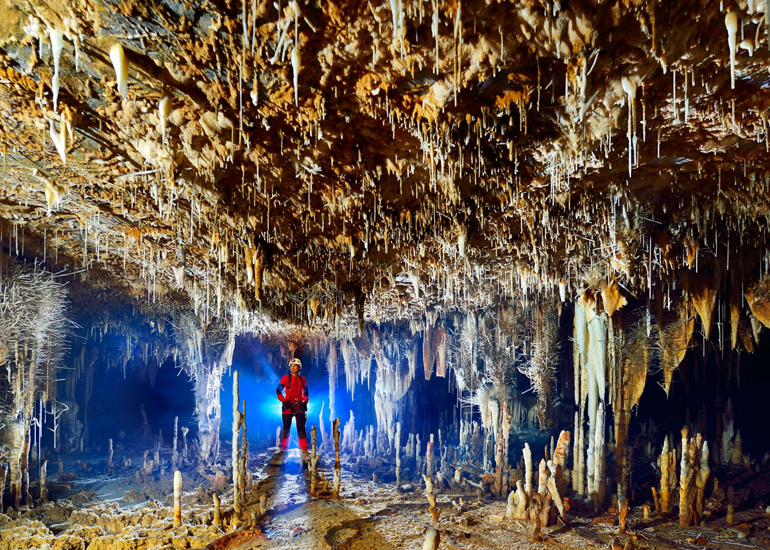03 Le spettacolari grotte di Terra Ronca in Brasile