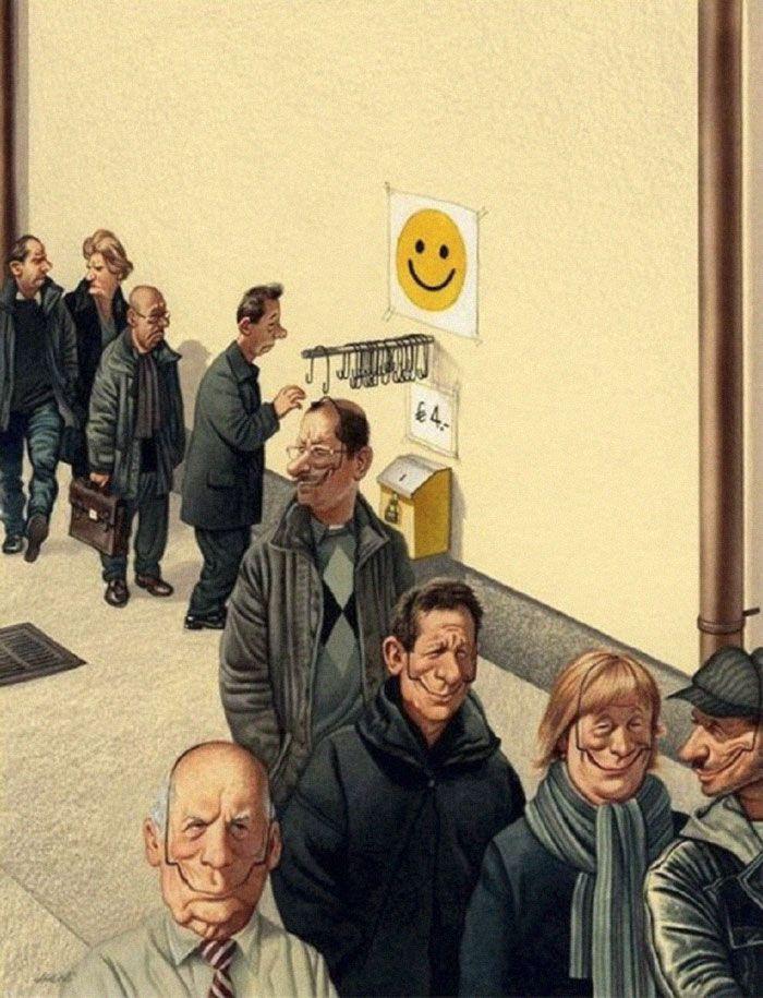 04 Illustrazioni satiriche di Gerhard Haderer