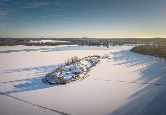 04 Incredibili foto aeree di unisola finlandese viste nel corso delle quattro stagioni