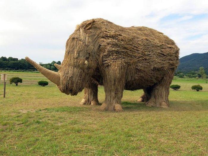 04 sculture giganti di paglia