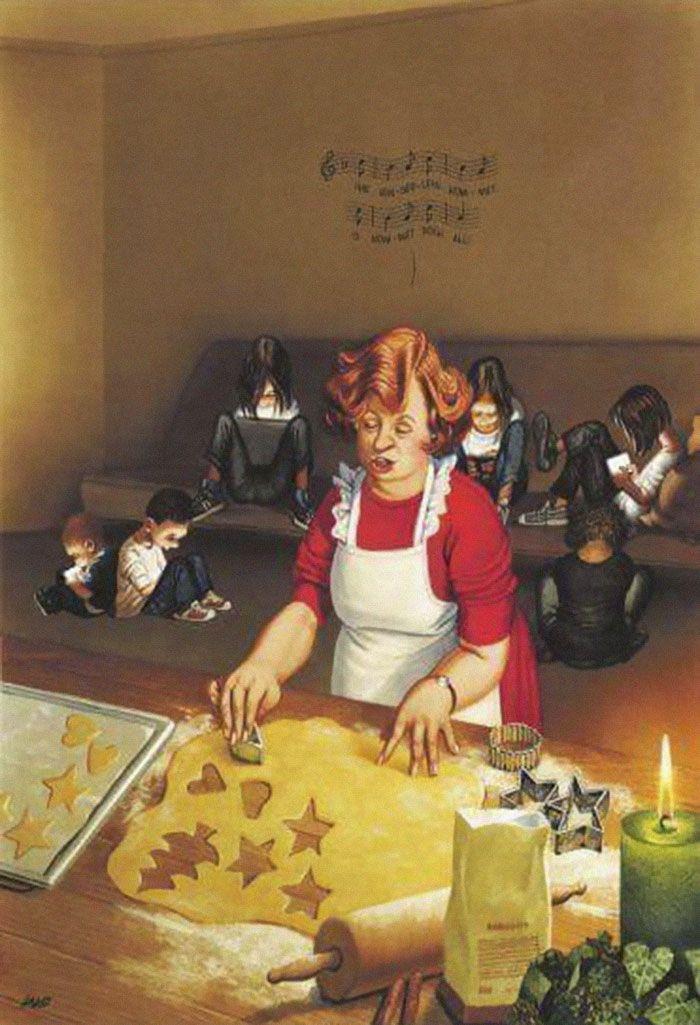 05 Illustrazioni satiriche di Gerhard Haderer