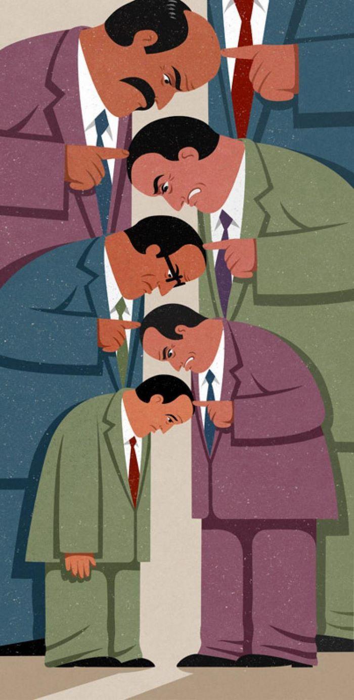 05 dieci illustrazioni brutalmente oneste sulla nostra società