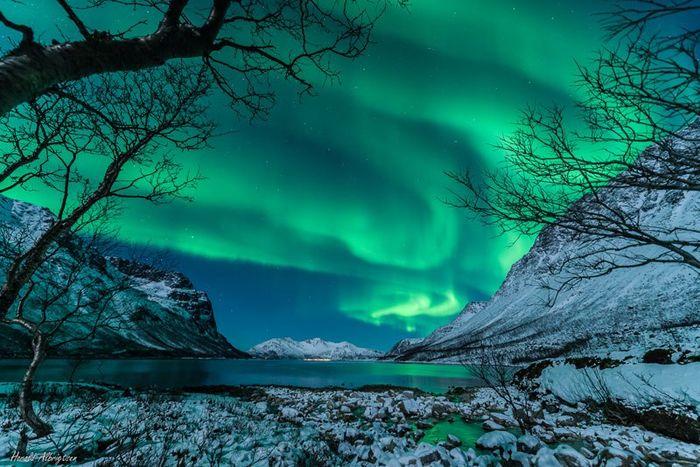 06 le più belle foto di aurore boreali della NASA