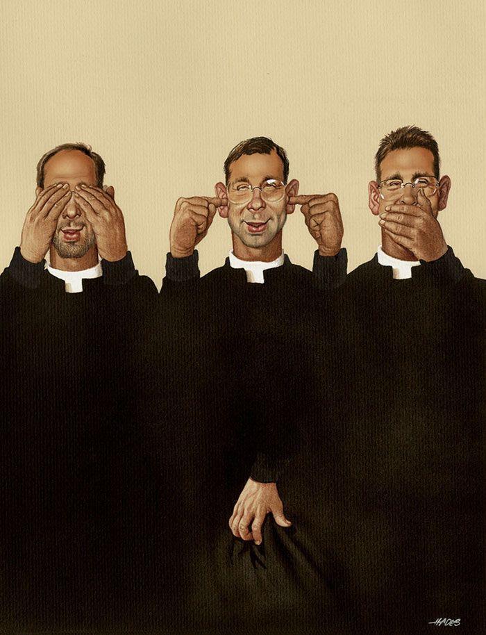 07 Illustrazioni satiriche di Gerhard Haderer