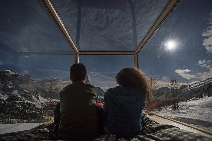 07 Starlight Room 360 dormire sotto le stelle ad alta quota