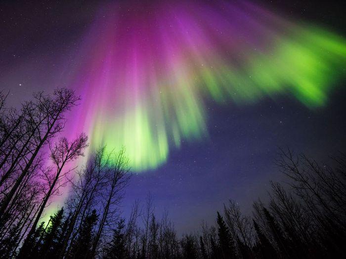 08 le più belle foto di aurore boreali della NASA