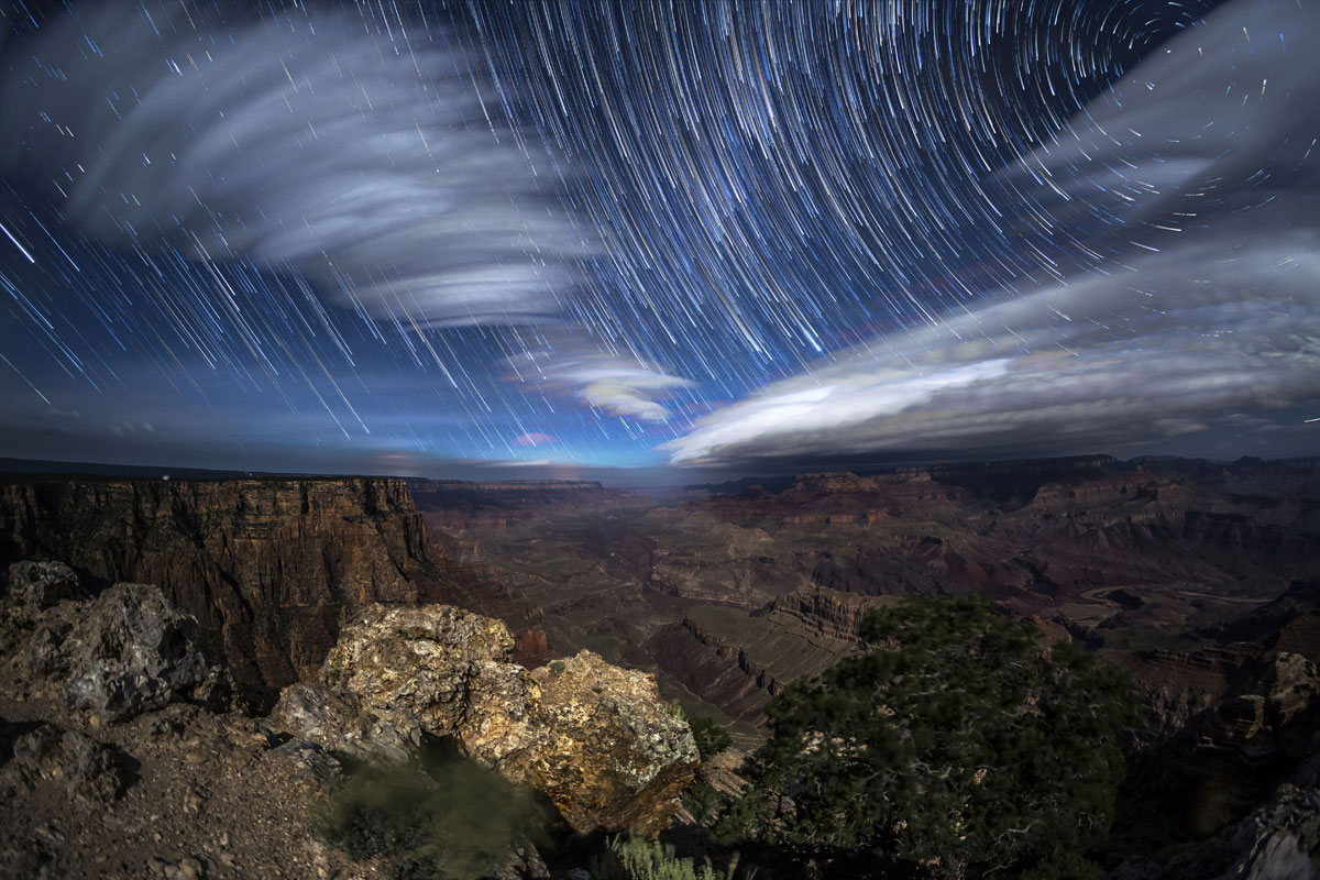 10 Timelapse nel Grand Canyon