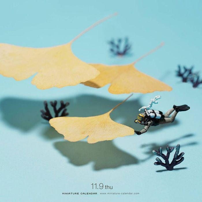12 Questo artista dal 2011 ha creato una scena in miniatura ogni giorno