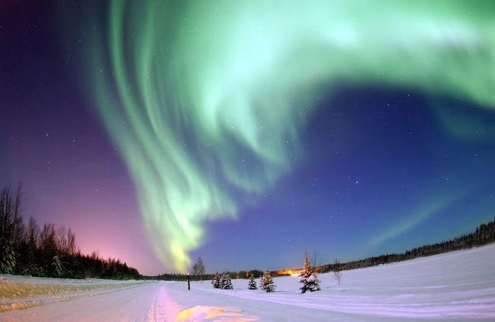 26 le più belle foto di aurore boreali della NASA