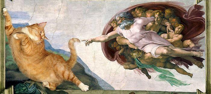 01 Il mio gatto nelle opere d'arte più famose