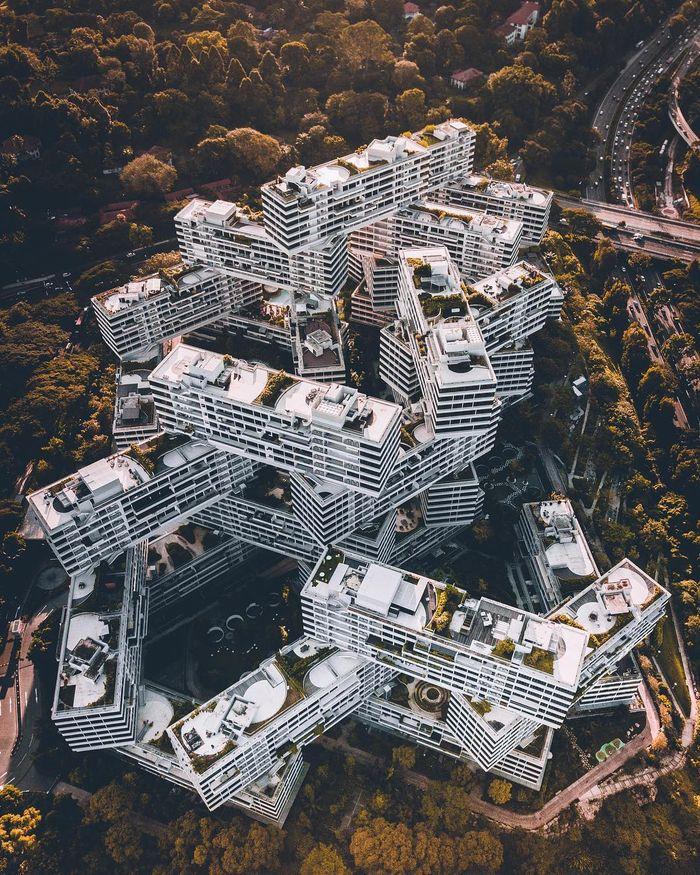 01 Singapore vista dall'alto negli scatti del fotografo Ryan James