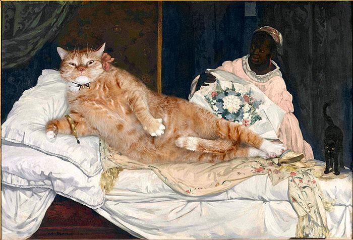 02 Il mio gatto nelle opere d'arte più famose