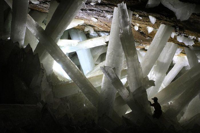 02 In una grotta del Messico i cristalli più grandi del mondo