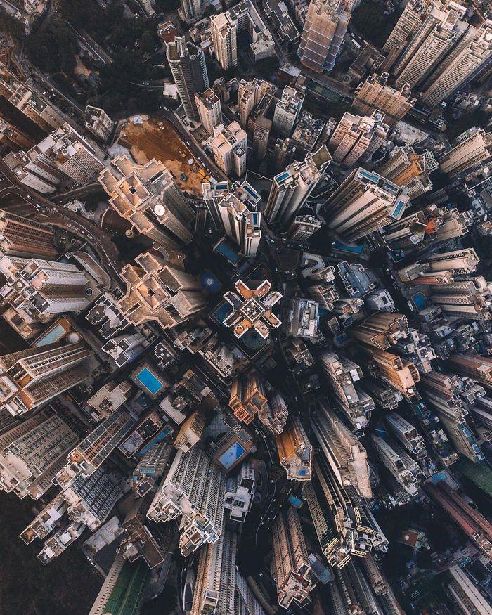 02 Singapore vista dall'alto negli scatti del fotografo Ryan James