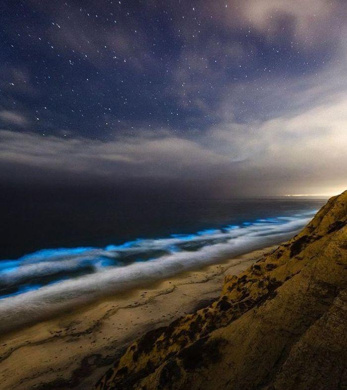 02 spiagge di San Diego fluorescenti