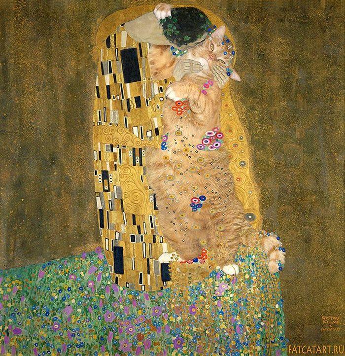03 Il mio gatto nelle opere d'arte più famose