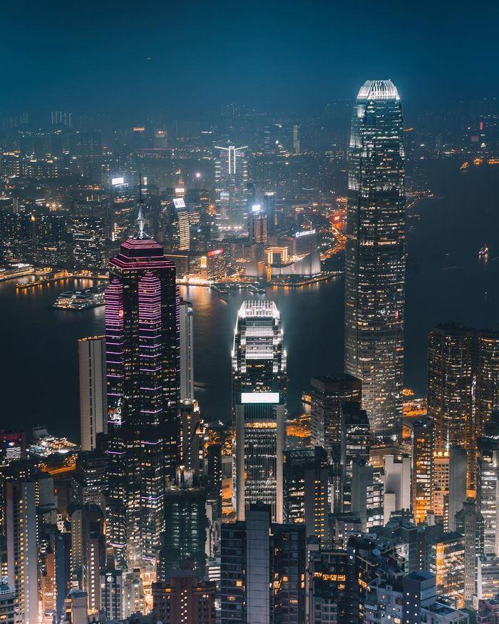 03 Singapore vista dall'alto negli scatti del fotografo Ryan James