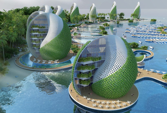 03 eco resort a forma di spirale