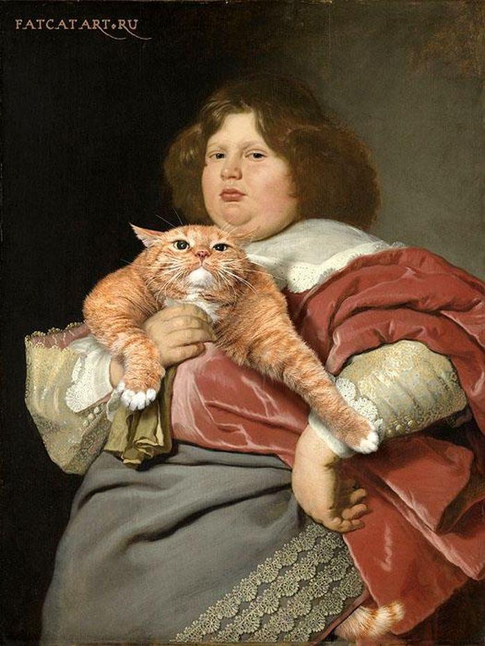 04 Il mio gatto nelle opere d'arte più famose