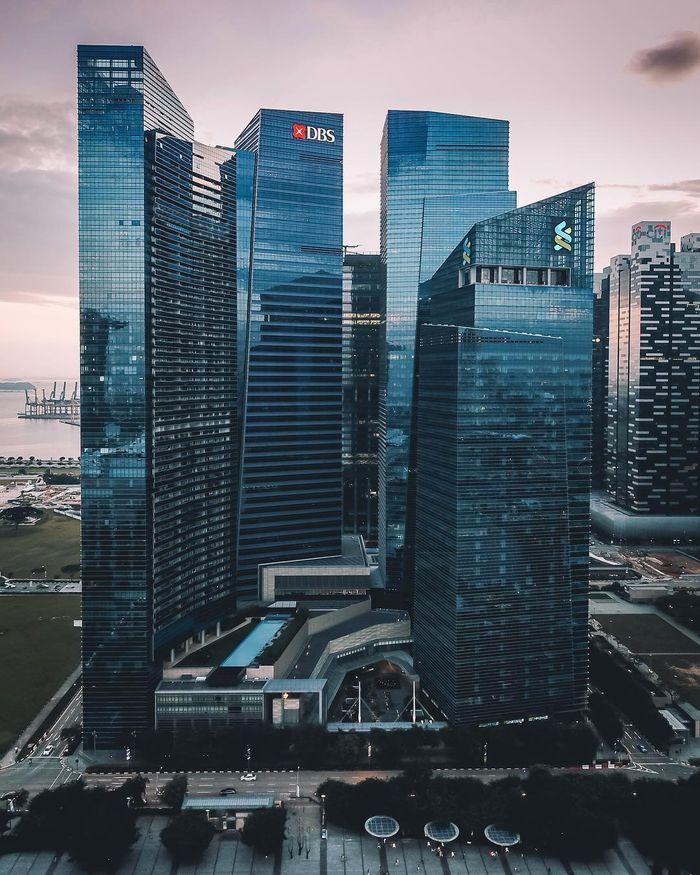 04 Singapore vista dall'alto negli scatti del fotografo Ryan James
