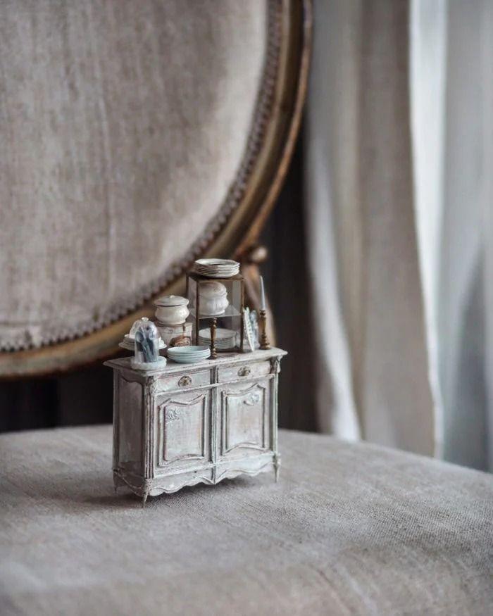 04 case di bambole in miniatura