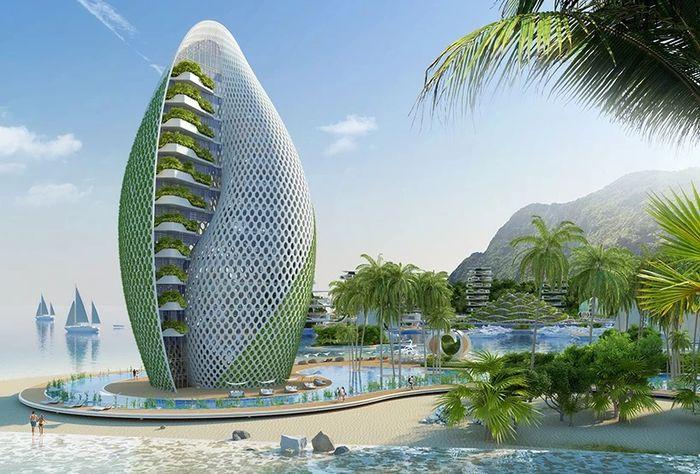 04 eco resort a forma di spirale
