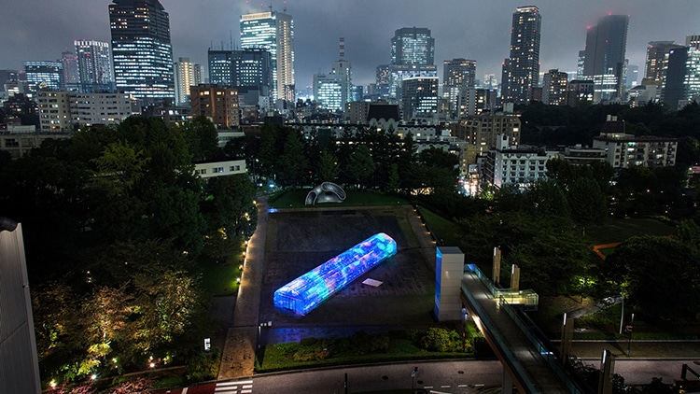 05 A Tokyo creata una serra per esperienze multisensoriali