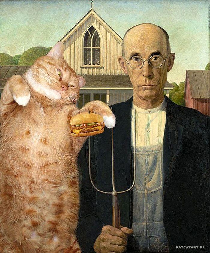 05 Il mio gatto nelle opere d'arte più famose