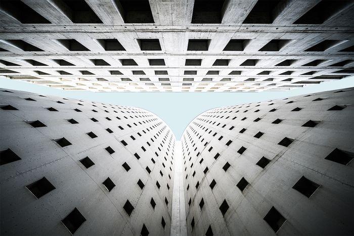 05 Le simmetrie architettoniche di Vienna nelle foto di Zsolt Hlinka