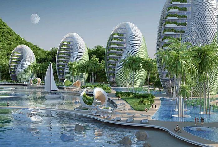 05 eco resort a forma di spirale