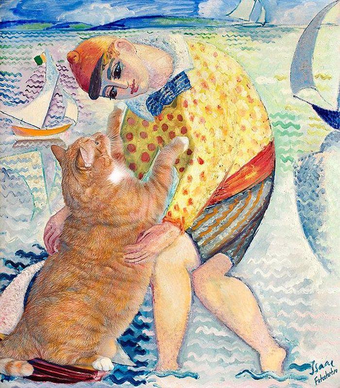 06 Il mio gatto nelle opere d'arte più famose