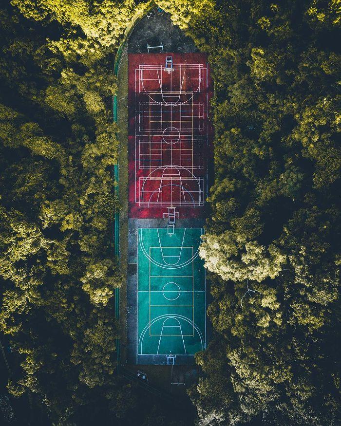 07 Singapore vista dall'alto negli scatti del fotografo Ryan James