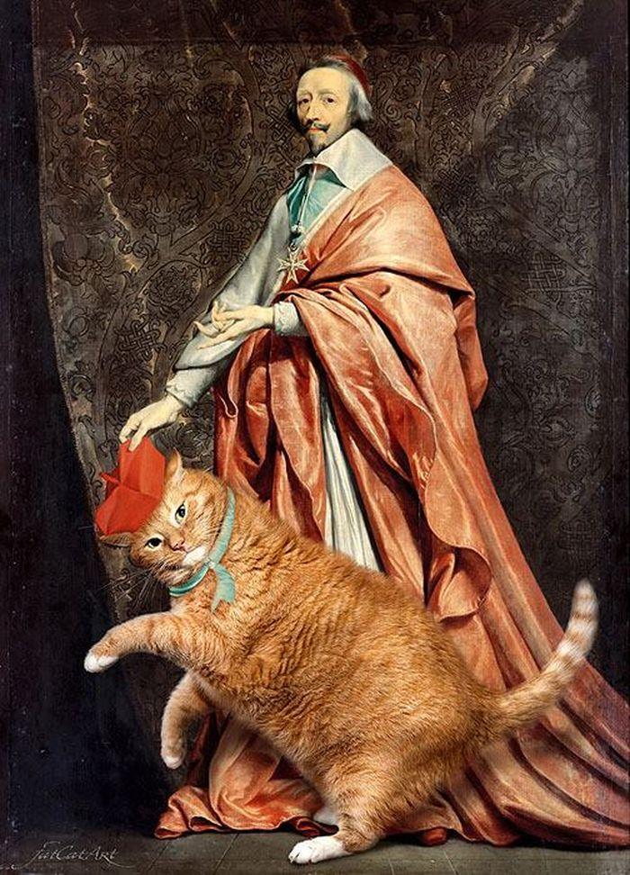 08 Il mio gatto nelle opere d'arte più famose