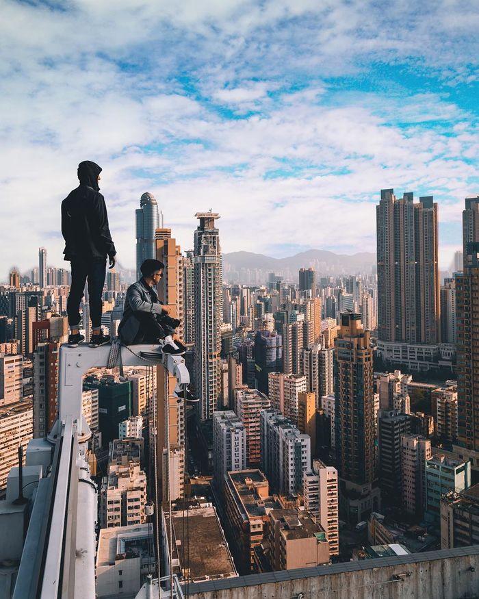 08 Singapore vista dall'alto negli scatti del fotografo Ryan James