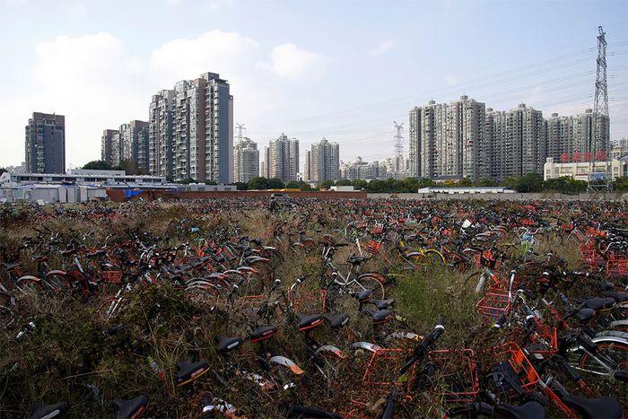 08 biciclette abbandonate in Cina