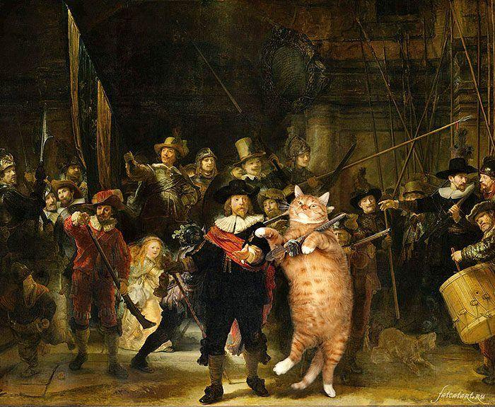 09 Il mio gatto nelle opere d'arte più famose