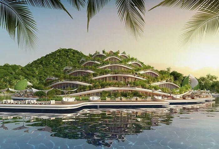 09 eco resort a forma di spirale