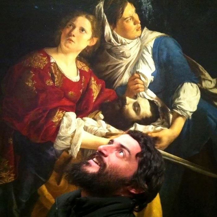 09 un sosia in un'opera d'arte