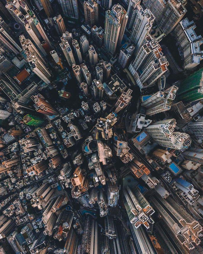 10 Singapore vista dall'alto negli scatti del fotografo Ryan James