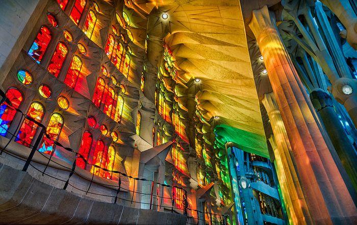11 7 tra le più belle vetrate del mondo