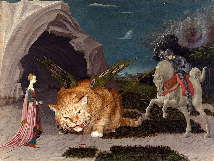 11 Il mio gatto nelle opere d'arte più famose