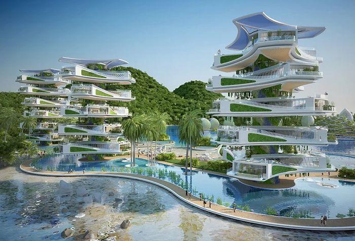11 eco resort a forma di spirale