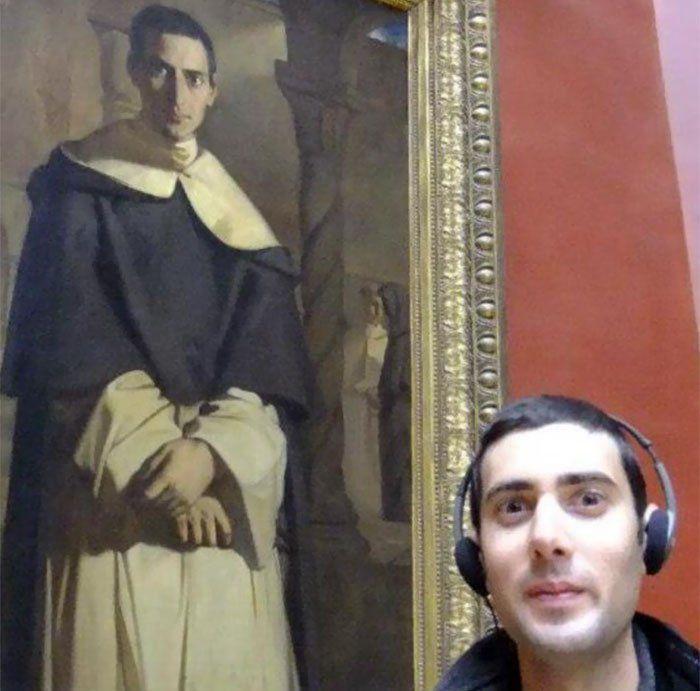Trovare sosia nelle opere d'arte