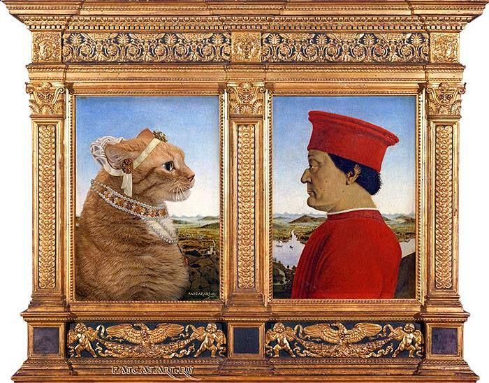 12 Il mio gatto nelle opere d'arte più famose
