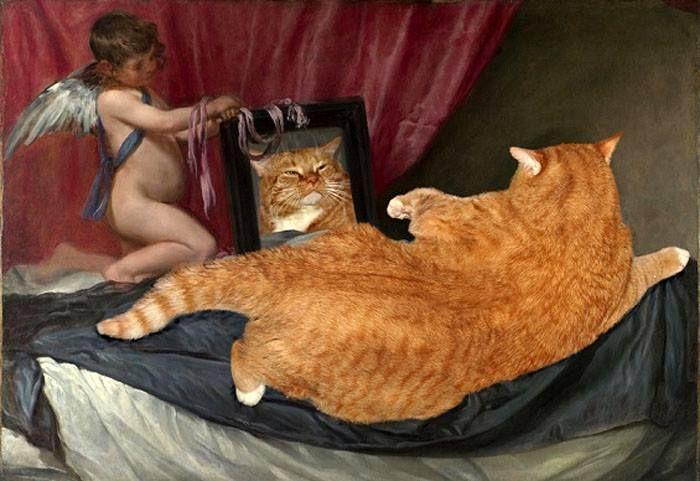 13 Il mio gatto nelle opere d'arte più famose